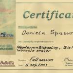Сертификати на салон Дивна Медик